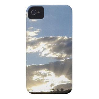 Wolken und Sun iPhone 4 Cover