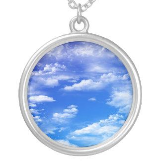 Wolken Versilberte Kette