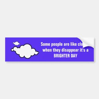 Wolken-Witz-Autoaufkleber Autoaufkleber