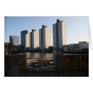 Wolkenkratzer in Rotterdam Karte