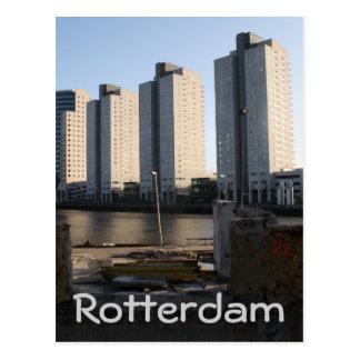 Wolkenkratzer in Rotterdam Postkarte