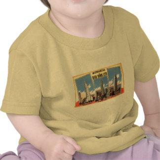 Wolkenkratzer von New York City Vintag Tshirts