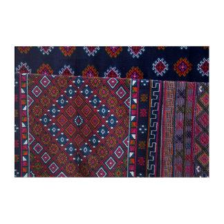 Wolldecken von Bhutan Acryldruck