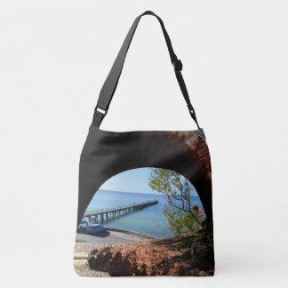 Wolle-Bucht, Südaustralien, die Ansicht, Tragetaschen Mit Langen Trägern