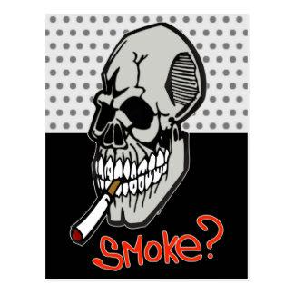 Wollen Sie einen Rauch Postkarten