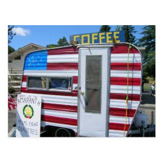 Wollen Sie Kaffee Postkarte