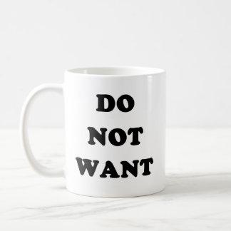 Wollen Sie nicht Tee Tassen