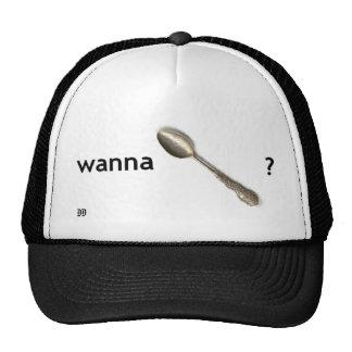 wollen Sie spoon Kappen