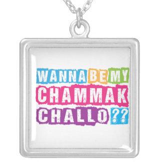 Wollen Sie, um mein Chammak Challo zu sein? Versilberte Kette