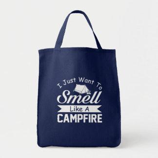 Wollen Sie, um wie Lagerfeuer-cooles Camping zu Tragetasche
