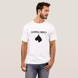 Wollen Sie, um zu boxen? T - Shirt für