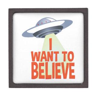 Wollen Sie, um zu glauben Kiste