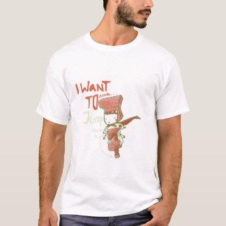 Wollen Sie, um zu springen T-Shirt