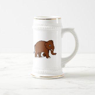 Wolliges Mammut Bierkrug