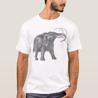 wolliges Mammut bwh T-Shirt