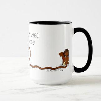 Wolliges Mammut-Liebe-Tasse Tasse