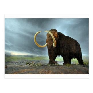 Wolliges Mammut-Mod-Schicksal Postkarte