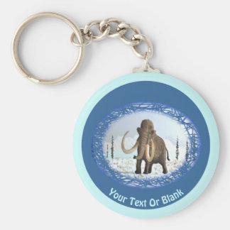 Wolliges Mammut Schlüsselanhänger