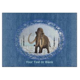 Wolliges Mammut Schneidebrett