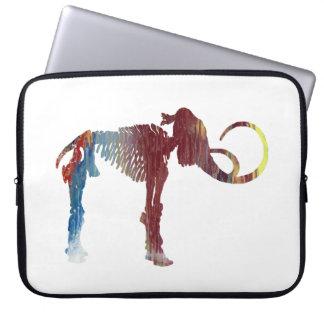 Wolliges Mammut-Skelett-Kunst Laptopschutzhülle