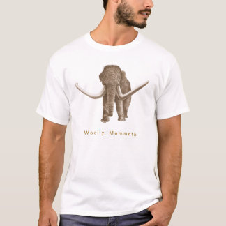 wolliges Mammut T-Shirt