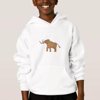 Wolliges Mammut-tänzelndes Zeichnen Hoodie