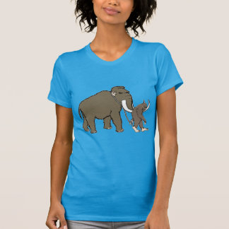 Wolliges Mammut und Bigfoot T-Shirt