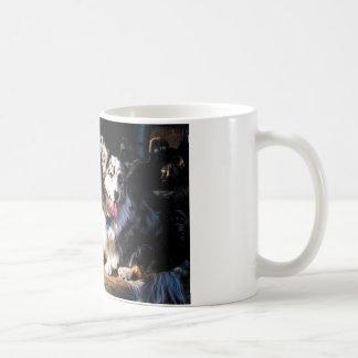 Wolljacken-u. Pembroke-WaliserCorgis Kaffeetasse