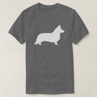 Wolljacken-Walisercorgi-Silhouette T-Shirt