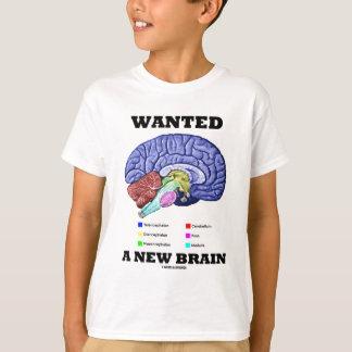 Wollte ein neues Gehirn (anatomische T-Shirt