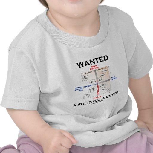 Wollte eine politische Mitte (Pournelle Diagramm) Hemd