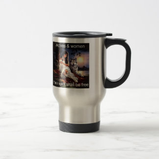 wolveswomenspirit kaffee tassen