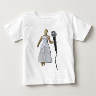 WomanUsingAudioMicrophone081311 Baby T-shirt