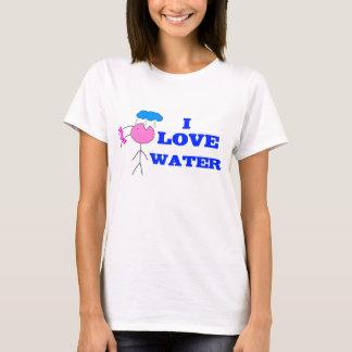 """Women' s T-shirt/T-shirt femmes """"I SCHLIESST WATER T-Shirt"""