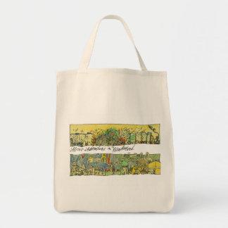 Wonderscapes Alice Bio Lebensmittelgeschäft-Tasche Einkaufstasche