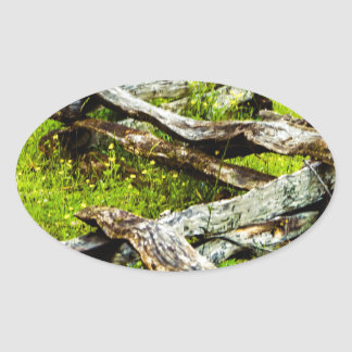 Wood_Fence.JPG Ovaler Aufkleber