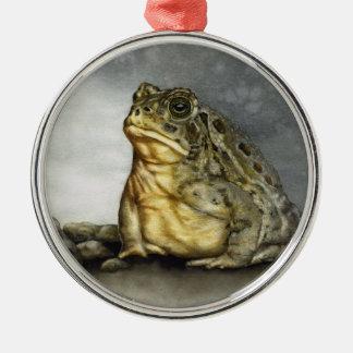 Woodhouse Krötenverzierung Silbernes Ornament