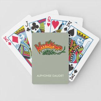 Wood'stown durch Alphonse Daudet Bicycle Spielkarten