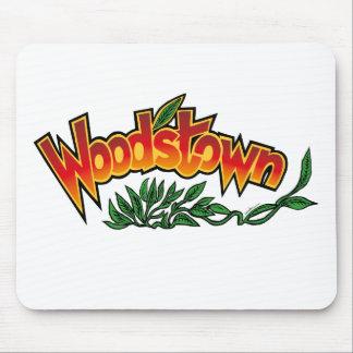 Wood'stown durch Alphonse Daudet Mousepad