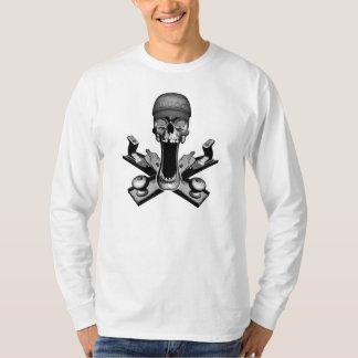 Woodworker-Schädel T-Shirt