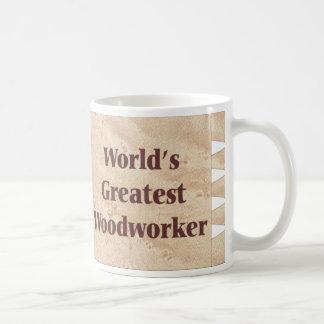 Woodworker-Schale Kaffeetasse