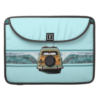 Woody-Wellesurfer-Rickshaw flatterte MacBook Fall MacBook Pro Sleeve