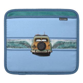 Woody-Wellesurfer-Rickshaw iPad Fall iPad Sleeve