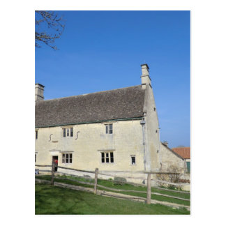 Woolthorpe Manor, Zuhause von Sir Isaac Newton Postkarte