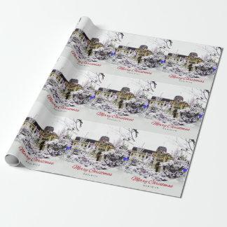 Woolwich - WeihnachtsPackpapier Geschenkpapier