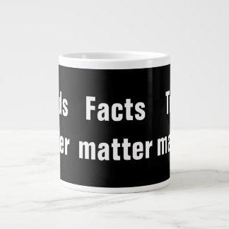 Words Matter Facts Matter Truth Matters Jumbo-Tasse