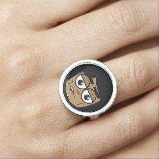 Workingman-Gesicht Ring