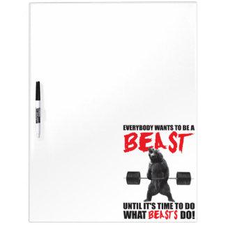 Workout-Fitness-Turnhallen-Motivation - Tier Memoboards