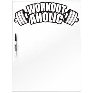 Workout-Spaß - Workoutaholic Memoboard