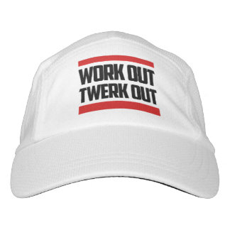 """Workout Twerk heraus"" Strick-Leistung HUT Headsweats Kappe"